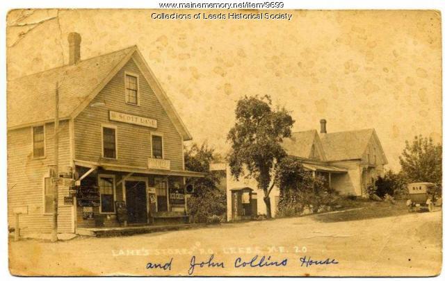 Lanes Store Postcard