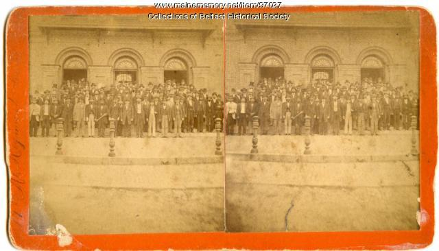19th Maine Regiment, Co. D Reunion, Belfast, 1875