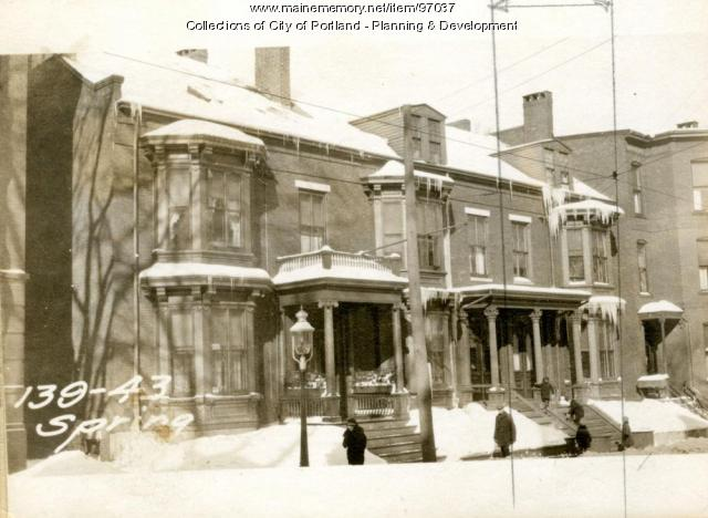 139 Spring Street, Portland, 1924
