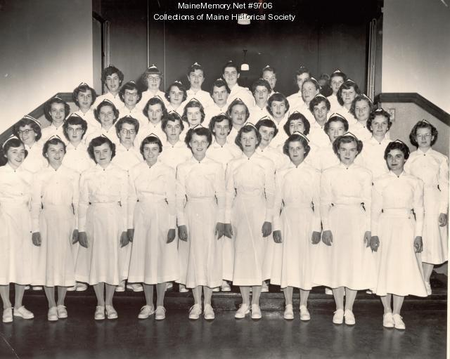 MMC School of Nursing, Portland, 1954