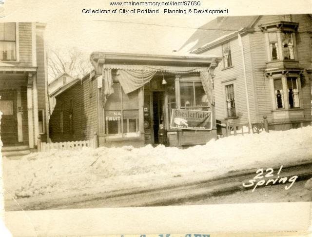 221 Spring Street, Portland, 1924