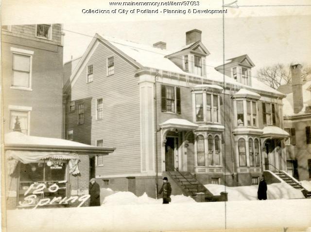 125 Spring Street, Portland, 1924