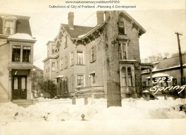 323-325 Spring Street, Portland, 1924