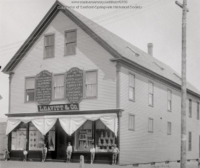 Leavitt & Co. Store, Sanford