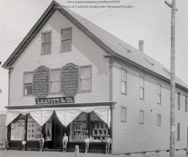 Leavitt & Co. Store, Sanford