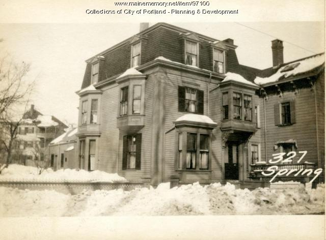 327-329 Spring Street, Portland, 1924