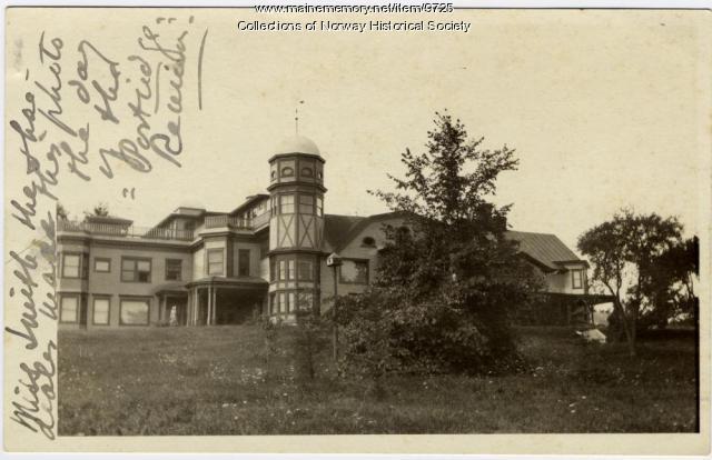 Charles A. Stephens Laboratory postcard, ca. 1921