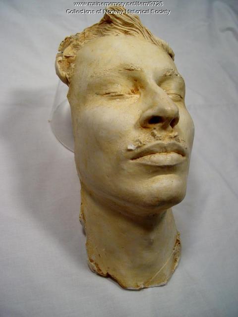Life mask of Alexander Hamilton Chapman, Nov. 4, 1924