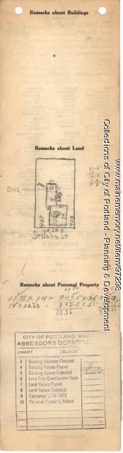 453-455 St. John Street, Portland, 1924