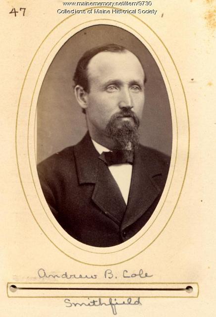 Andrew Cole, Smithfield, 1880