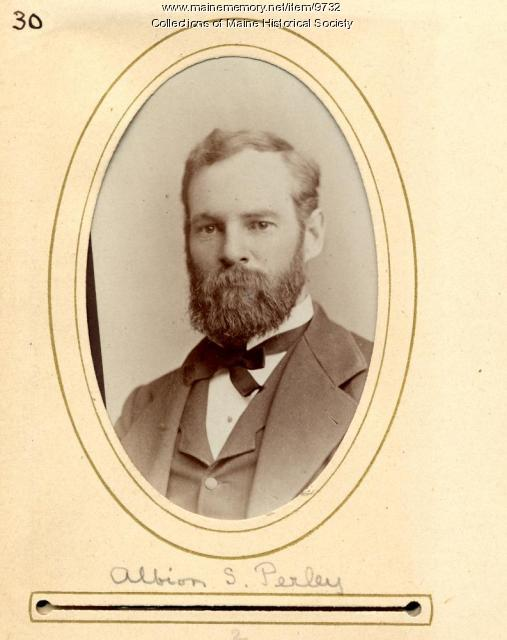 Albion S. Perley, North Yarmouth, 1880