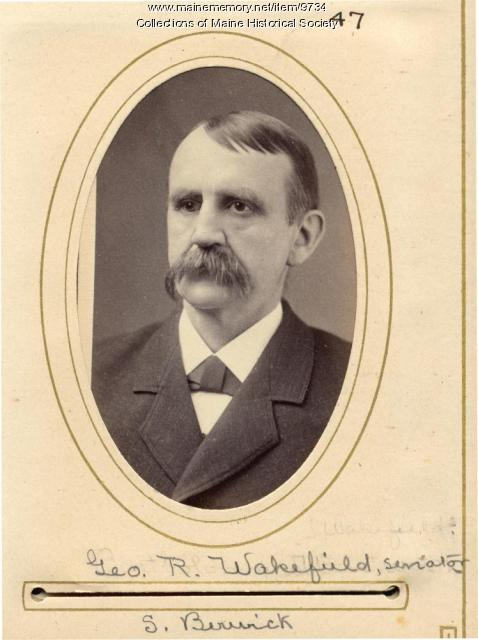 George H. Wakefield, South Berwick, 1880