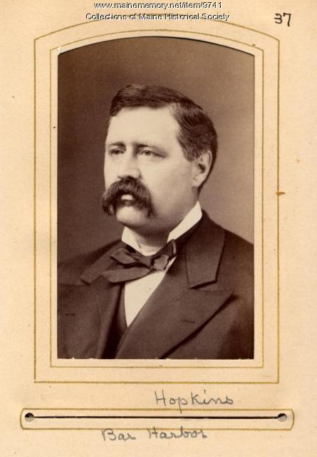 Hopkins, Maine State Legislature, 1880