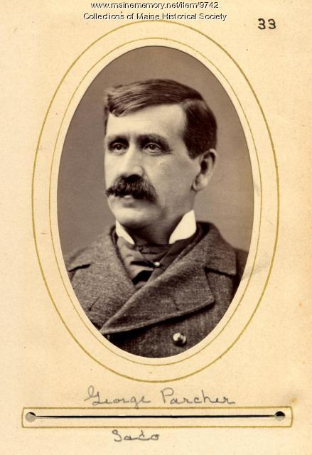 George Parcher, Maine State Legislature, 1880