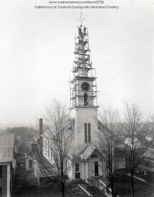 North Parish Congregational Church, Sanford, August 1917