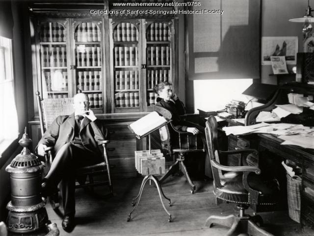 Lawyer Fred J. Allen and partner Belle Leavitt