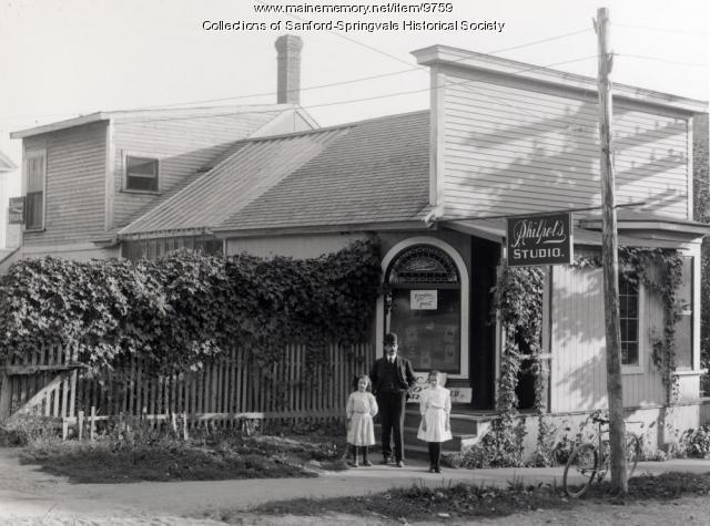 Philpot's Studio, Sanford, 1903