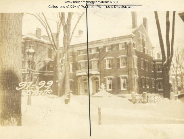 97 State Street, Portland, 1924