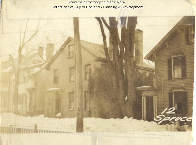 9 Spruce Street, Portland, 1924