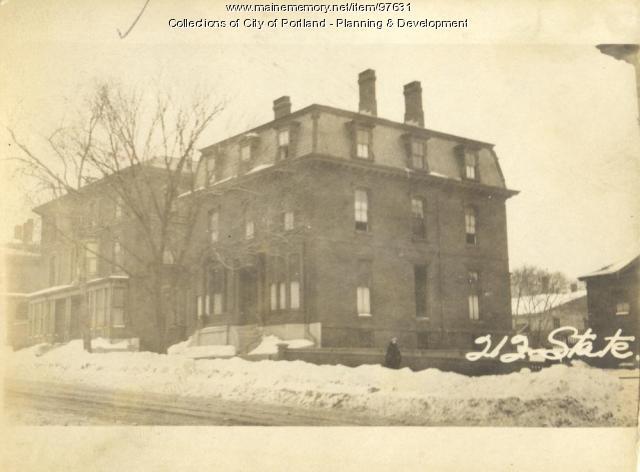 212 State Street, Portland, 1924