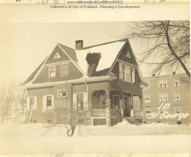 20 St. George Street, Portland, 1924