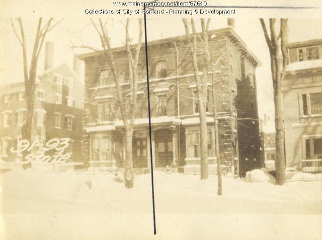 91 State Street, Portland, 1924
