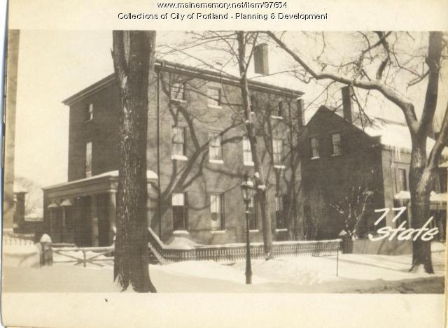 77 State Street, Portland, 1924