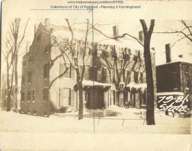 83 State Street, Portland, 1924
