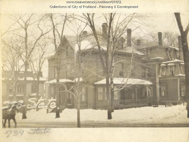 239-245 State Street, Portland, 1924