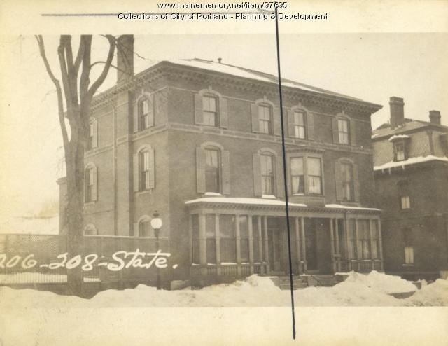 204-206 State Street, Portland, 1924