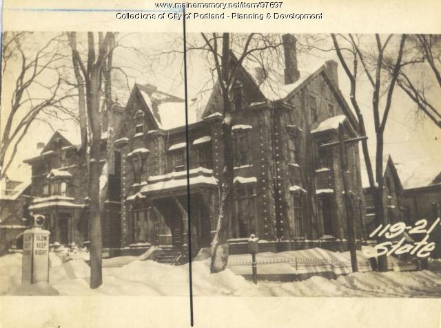 121 State Street, Portland, 1924