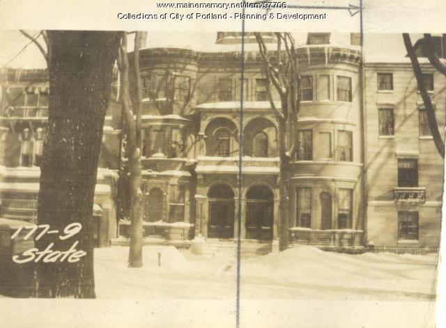177 State Street, Portland, 1924