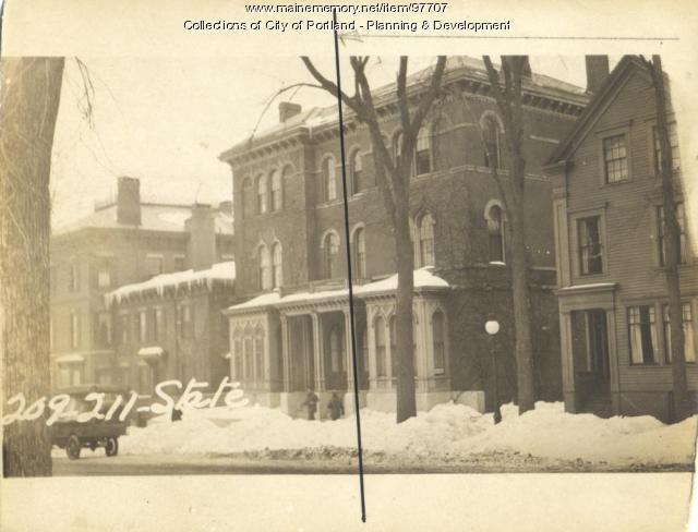 209 State Street, Portland, 1924