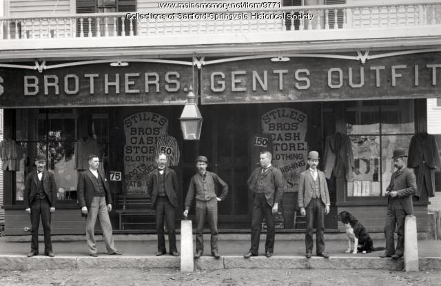 Stiles Bros. Store, Springvale, ca. 1895