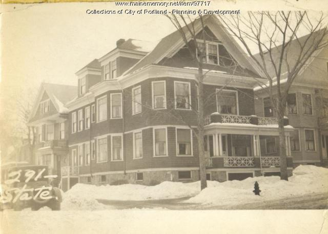 291-293 State Street, Portland, 1924