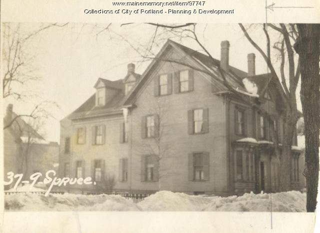 37 Spruce Street, Portland, 1924