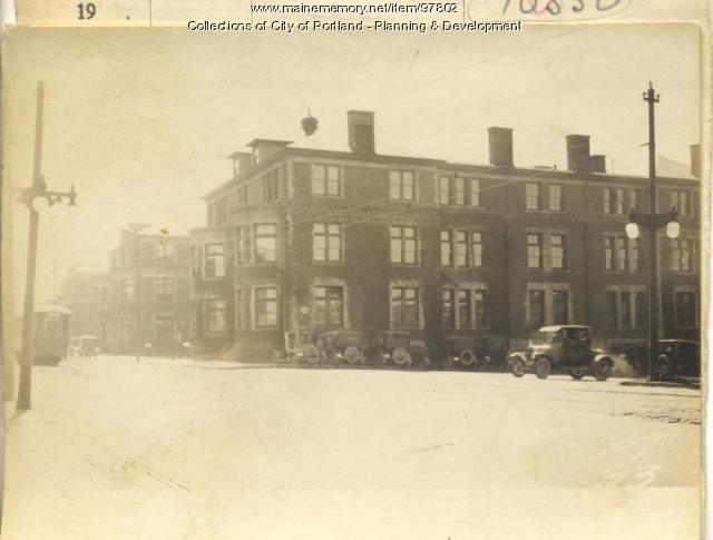 218-238 St. John Street, Portland, 1924