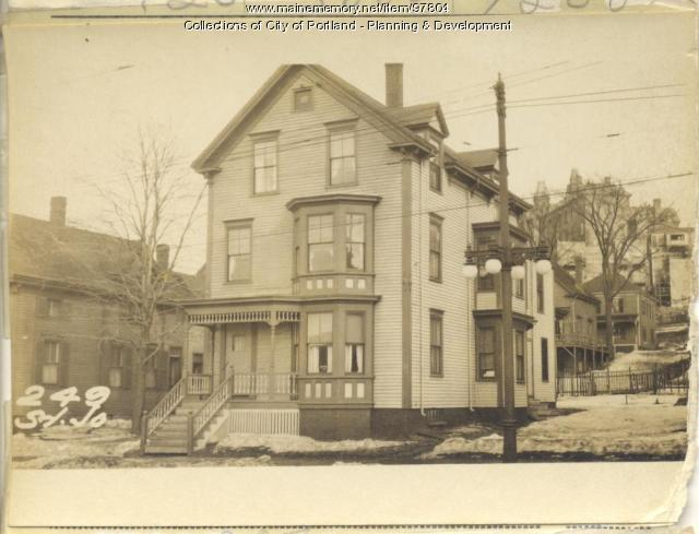 247-249 St. John Street, Portland, 1924