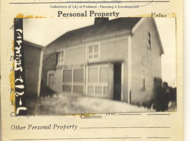 812 Stevens Avenue, Portland, 1924
