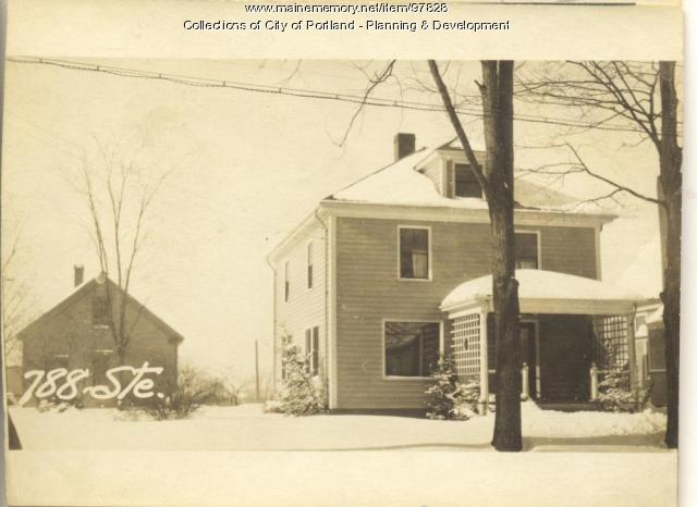 788 Stevens Avenue, Portland, 1924