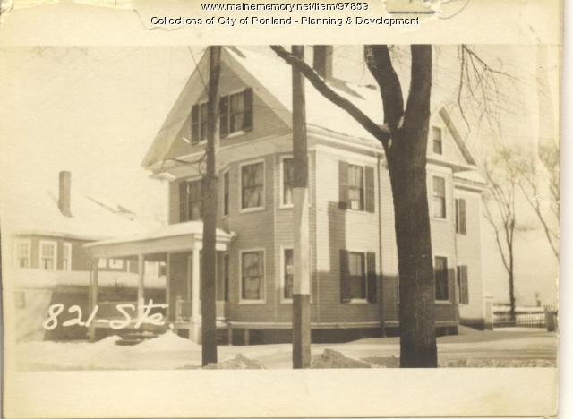 821 Stevens Avenue, Portland, 1924