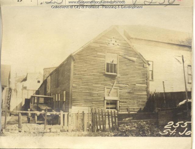 255-257 St. John Street, Portland, 1924