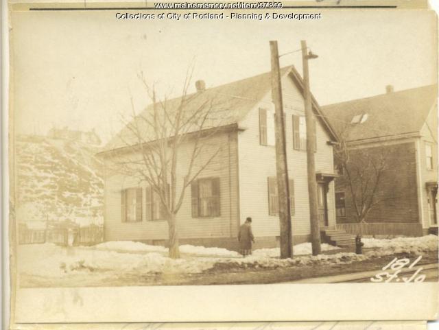 179 181 St. John Street, Portland, 1924