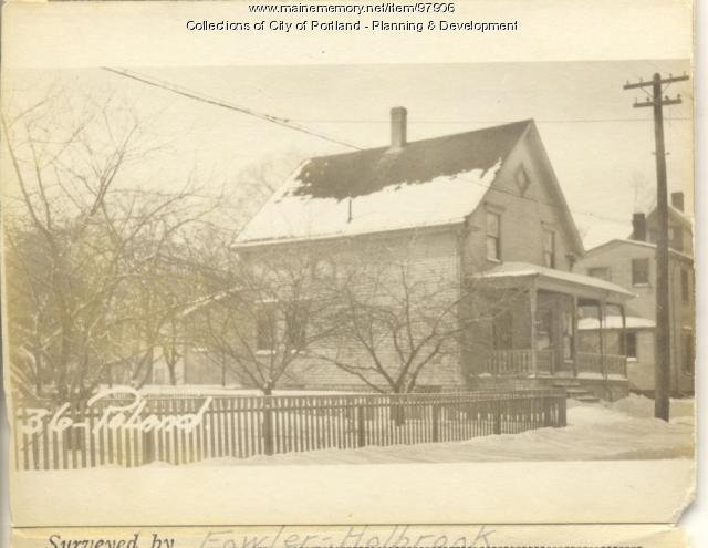 36 Poland Street, Portland, 1924