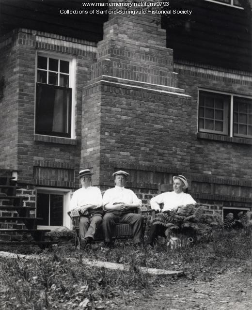 Three Men Relaxing
