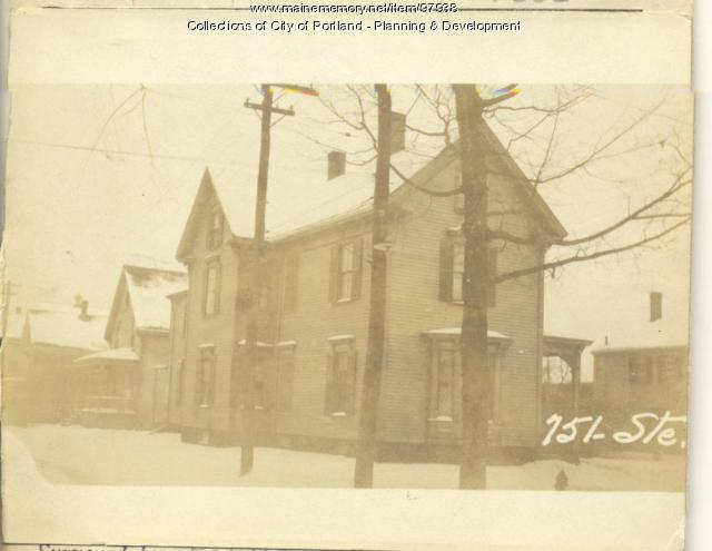 751 Stevens Avenue, Portland, 1924