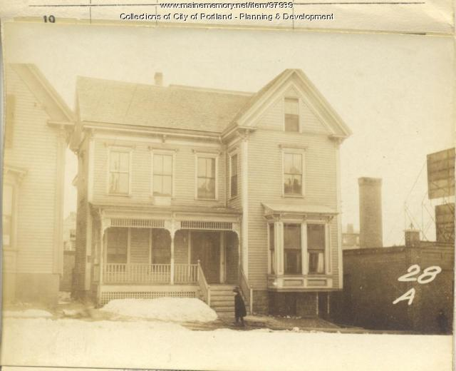 28 A Street, Portland, 1924