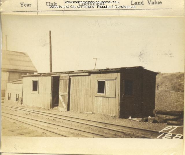 218-226 St. Johns Street (rear), Portland, 1924