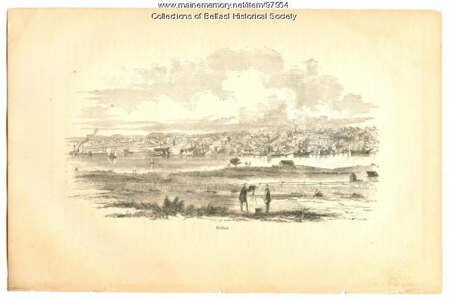 Harbor View, Belfast, 1860