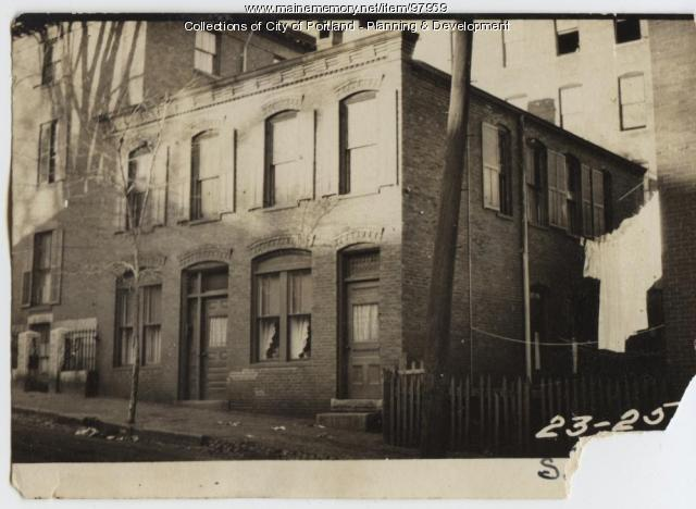 23-25 South Street, Portland, 1924